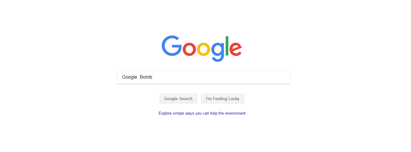 How To Google Bomb Someone